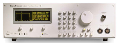 Gigatronics 8501A Single Channel Peak Power Meter for Pulse Waveform Measurement