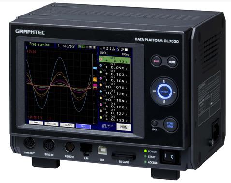 Graphtec GL900 Portable Data Acquisition Datalogger