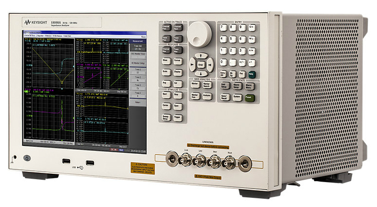 Keysight (Agilent) E4990A Impedance Analyzer, 20 Hz to 10/20/30/50/120 MHz