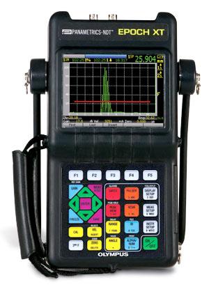 Olympus (Panametrics) Epoch XT Ultrasonic Flaw Detector.
