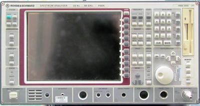 Rohde & Schwarz FSEK30 Microwave RF Spectrum Analyzer, 20 Hz - 40 GHz