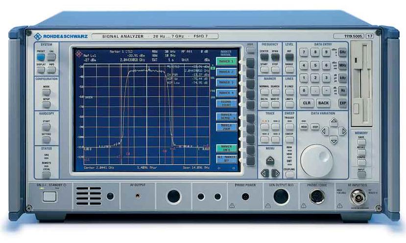 Rohde & Schwarz FSIQ7 20 Hz to 7 GHz Signal Analyzer