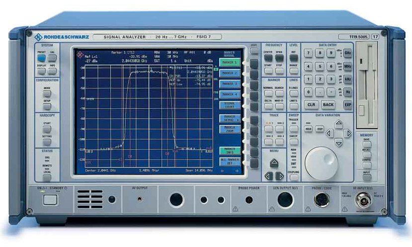 Rohde & Schwarz FSIQ7 20 Hz to 7 GHz Signal Analyzer