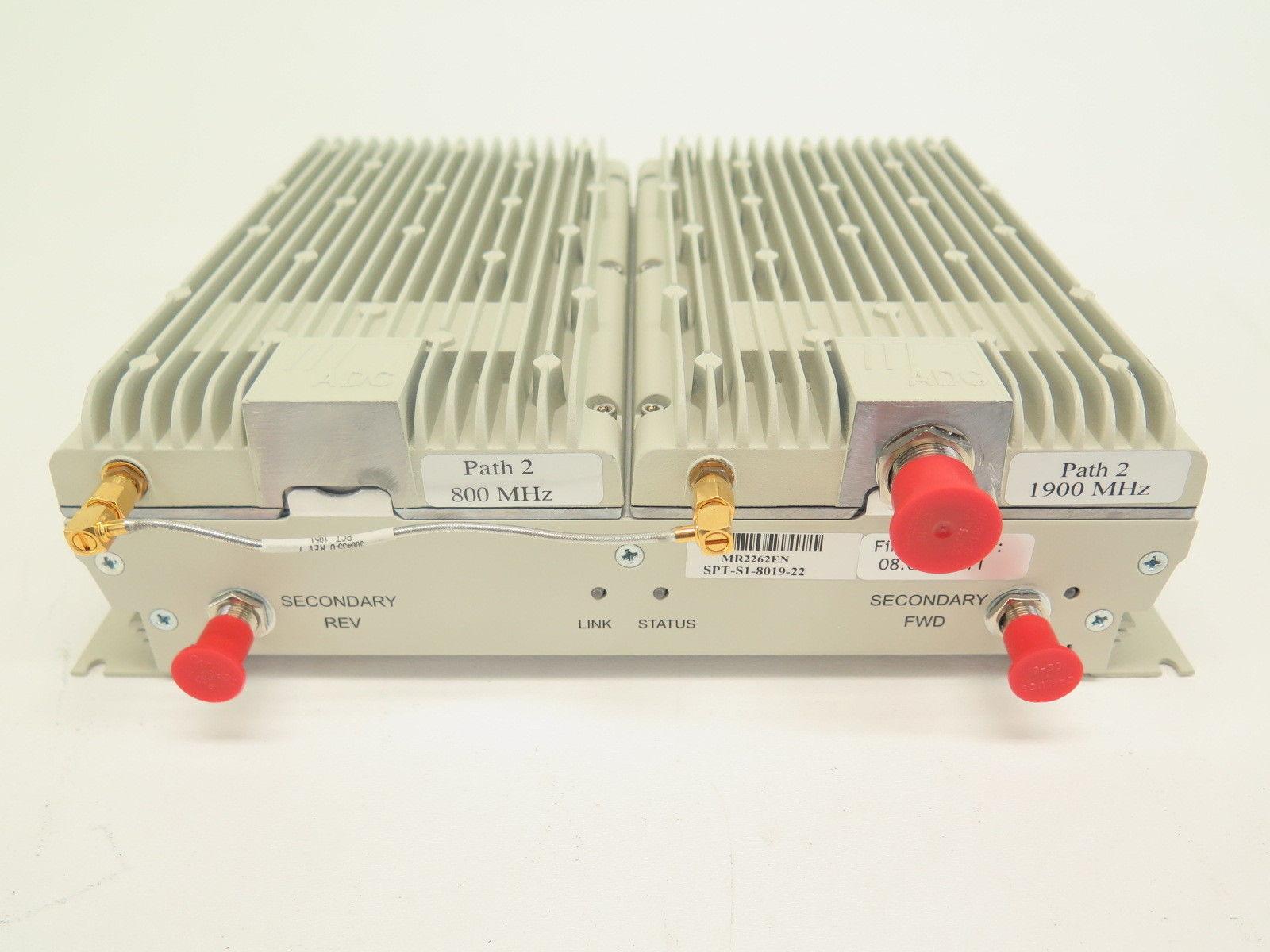 Tyco Electronics SPT-S1-8019-22 Spectrum P1 800 MHz P2 1900 MHz Secondary RAU