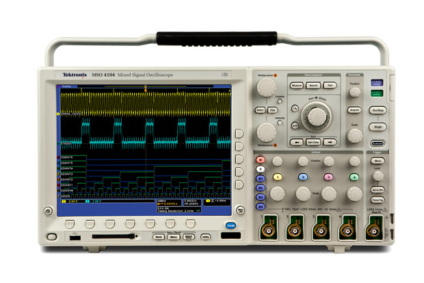 Tektronix DPO4034 350 MHz, 2.5 GS/s Digital Phosphor Oscilloscope