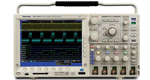 Tektronix DPO4054 Digital Phosphor Oscilloscope