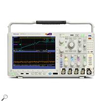 Tektronix MDO4014 100 MHz, 4+16-Ch, 3 GHz RF Mixed Domain Oscilloscope