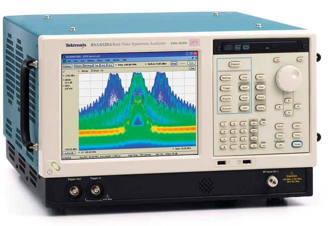 Tektronix RSA6120A 20 GHz Real-Time Spectrum Analyzer