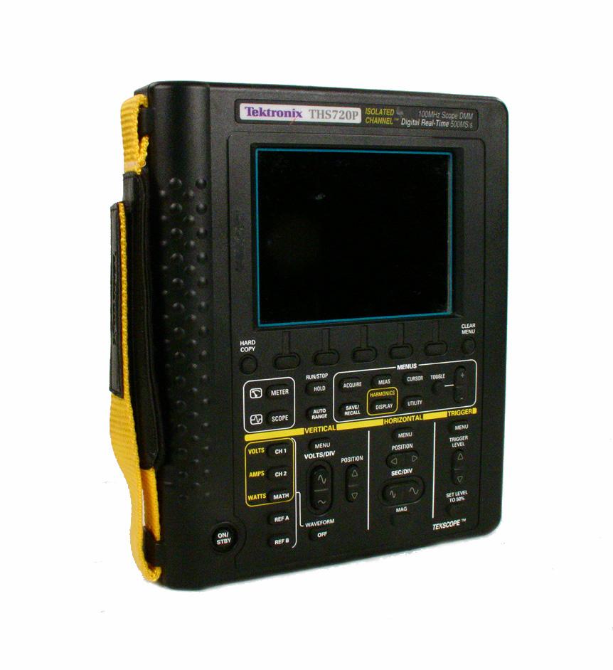 Tektronix THS720P 100MHz Oscilloscope DMM Power Analyzer