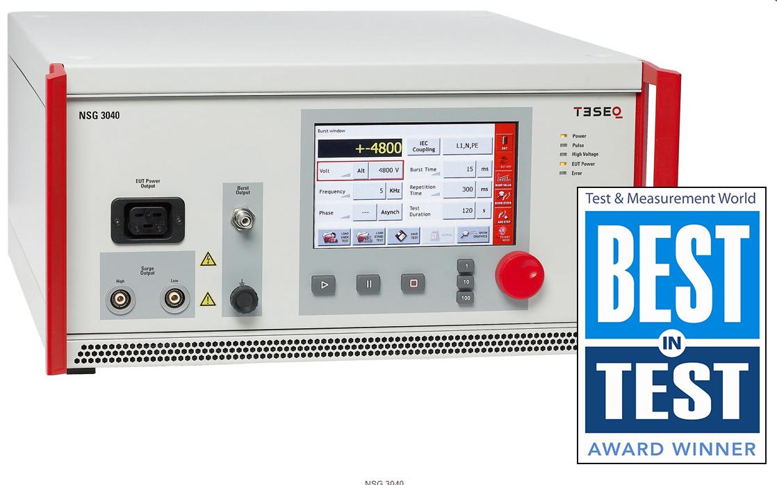 Teseq NSG 3040 4kV Conducted Immunity Generator for IEC 61000-4-4, IEC 61000-4-5 and more