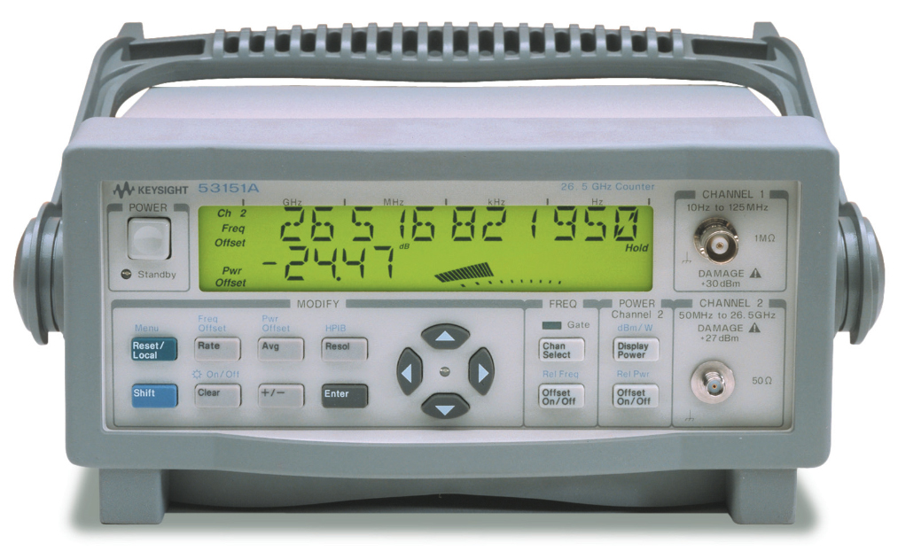 Keysight (Agilent/HP) 53151A 26.5 GHz CW Microwave Frequency Counter
