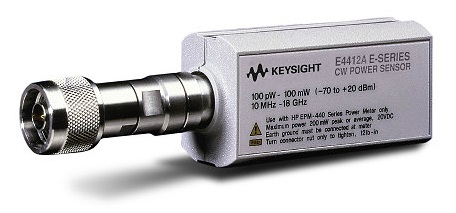 Keysight (Agilent) E4412A Wide Dynamic Range Power Sensor