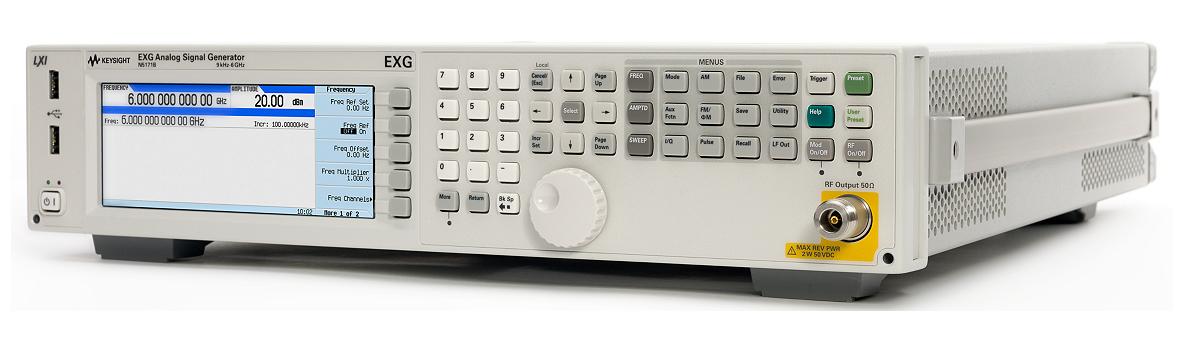 Keysight (Agilent) N5171B RF Analog Signal Generator, up to 6 GHz