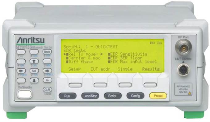 Anritsu MT8852B Bluetooth Test Set