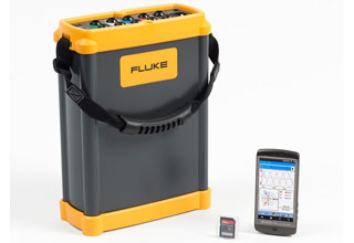 Fluke 1750 Three Phase Power Quality Recorder & Analyzer