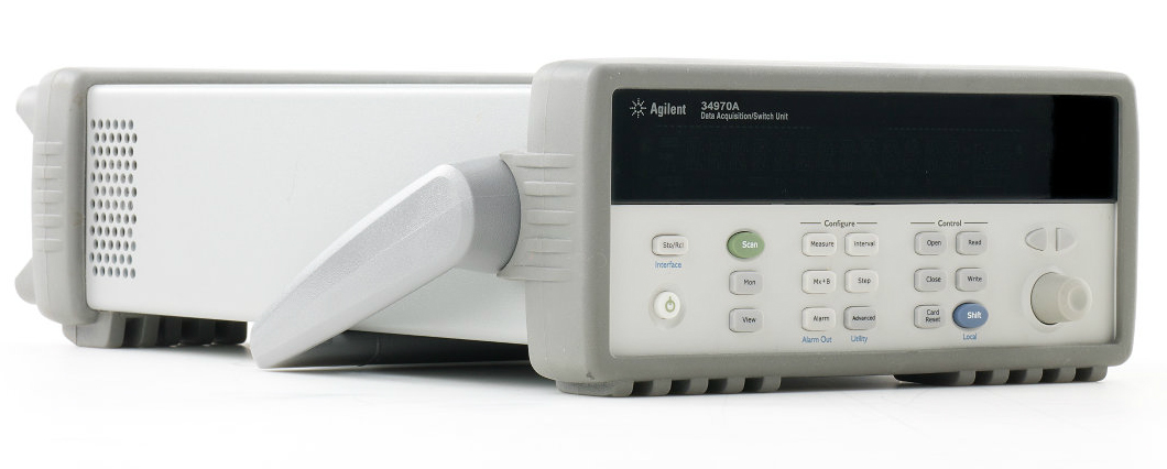 Used Keysight (Agilent/HP) 34970A Data Acquisition / Data Logger Switch Unit