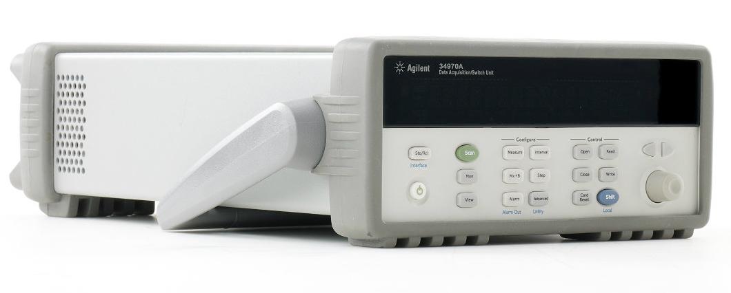 Used Keysight (Agilent/HP) 34970A Data Acquisition / Data Logger Switch Unit