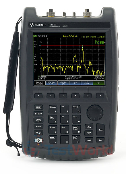 Keysight (Agilent) N9918A FieldFox Handheld Microwave Combination Analyzer, 26.5 GHz