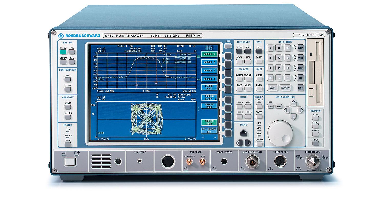 Rohde & Schwarz FSEA30 Spectrum Analyzer GSM, Q-CDMA, W-CDMA, WLAN and More