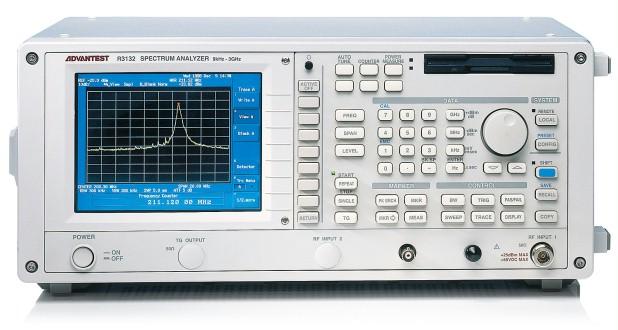 Advantest R3132 9kHz to 3GHz Versatile Spectrum Analyzer