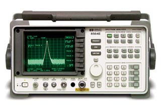 Keysight (Agilent/HP) 8593E Microwave Spectrum Analyzer, 9 kHz to 22 GHz