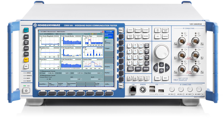 Rohde & Schwarz CMW500 Wideband Radio Communication/Production Tester