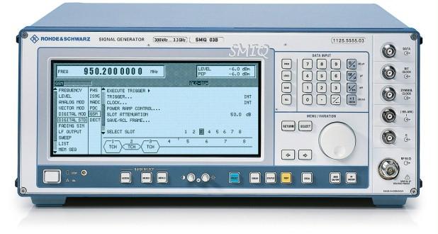 Rohde & Schwarz SMIQ03B 3 GHz Vector Signal Generator