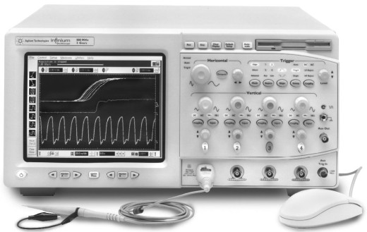 Keysight (Agilent) 54835A Infiniium Oscilloscope: 4 Channels, 1 GHz, 4 GSa/s