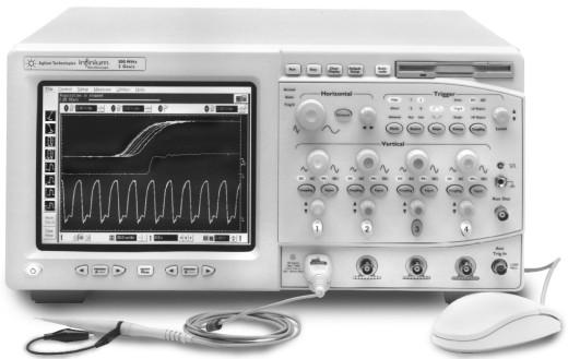Keysight (Agilent) 54835A Infiniium Oscilloscope: 4 Channels, 1 GHz, 4 GSa/s