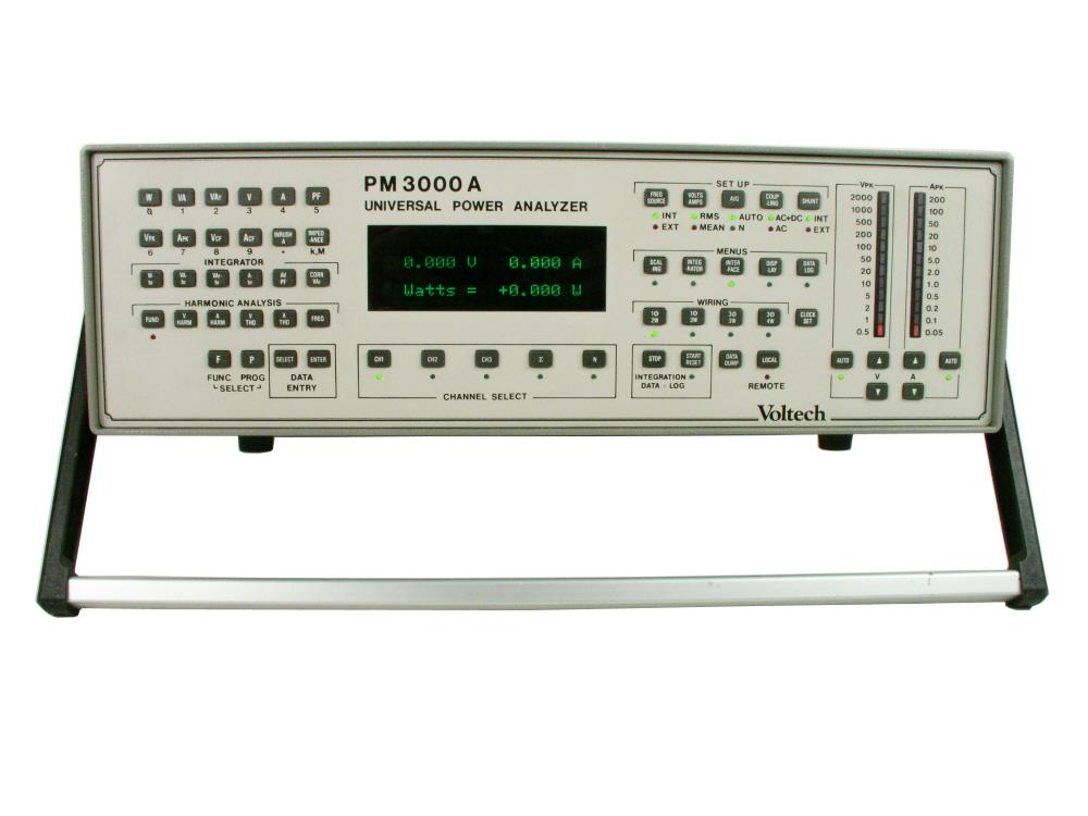 Voltech PM3000ACE Universal Power Analyzer