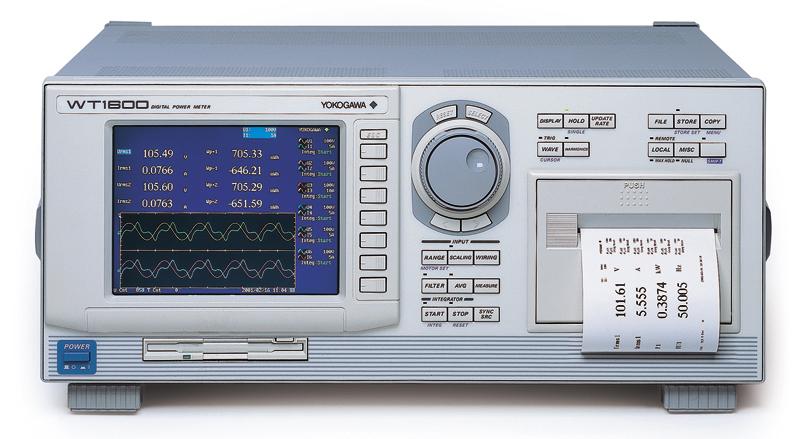 Yokogawa WT1600 Digital Power Meter