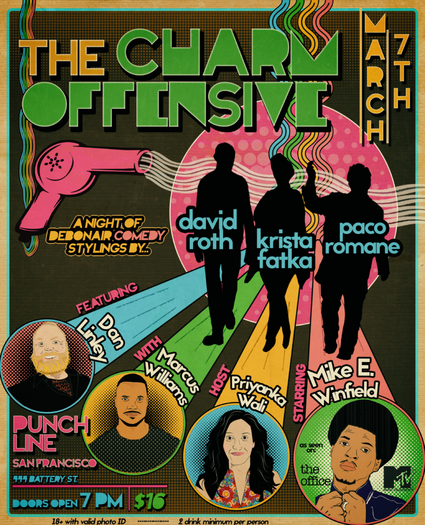 The Charm Offensive Comedy Show