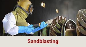 sandblasting