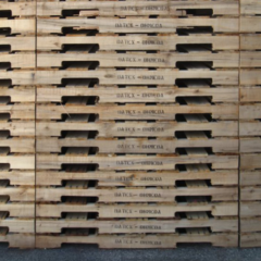 Stenciled Pallets