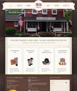 1856-Country-Store-WordPress-Website