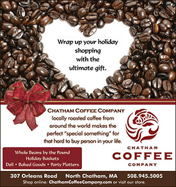 Professional Magazine Ad Design for Chatham Coffee and Cape Cod View Magazine