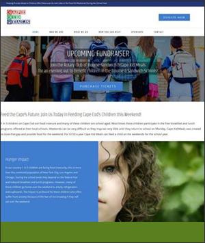 Cape Kid Meals WordPress Responsive Website