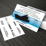 Double Sided Business Cards - Custom Design - Cape Cod Graphic Artist Darlene Billmair