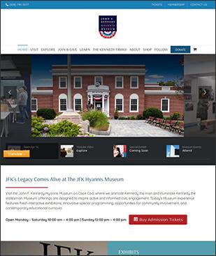 visit jfk hyannis museum website