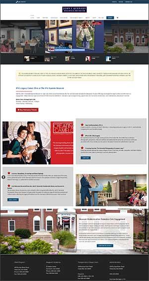 JFK-museum-website-design