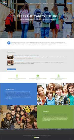 nonprofit cape kid meals home page
