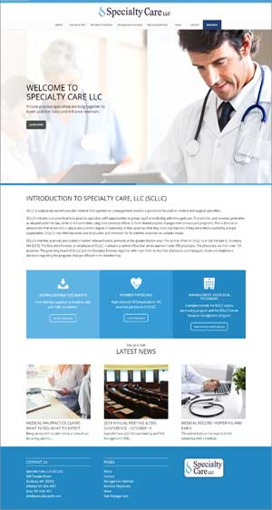 medical directory website