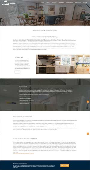 about page of builder website