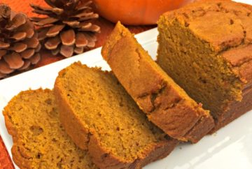 Gluten Free Pumpkin Maple Bread