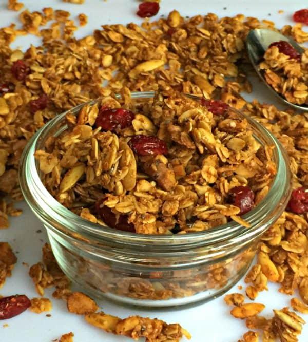 maple walnut granola recipe