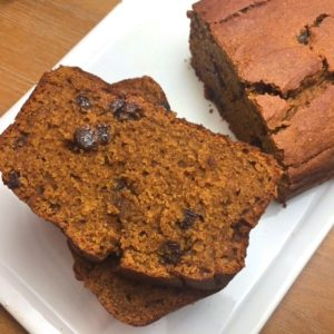 Buckwheat Spicy Pumpkin Loaf