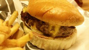 Burger at Bunsen