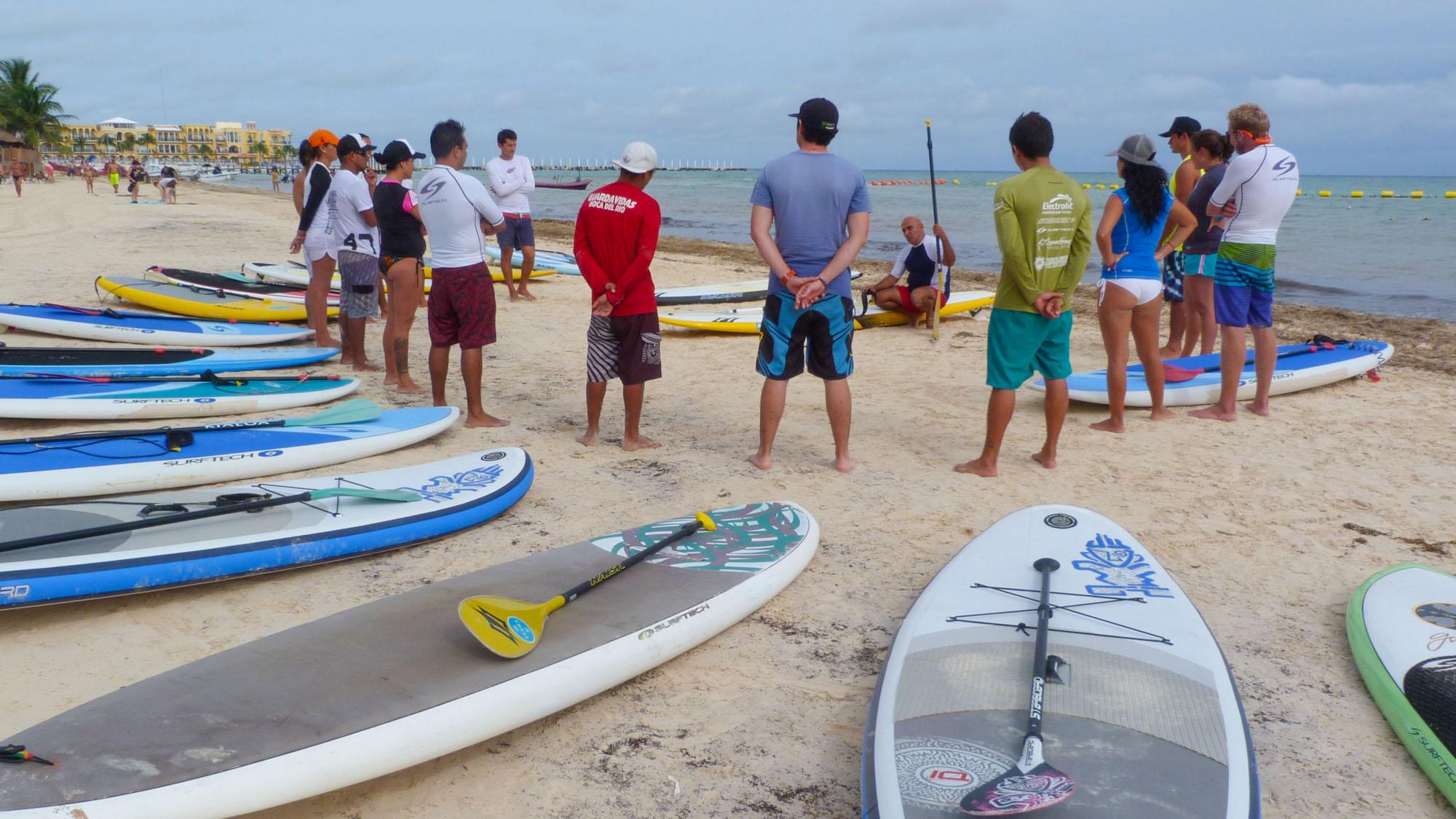 SUP Instructor Training - Playa del Carmen