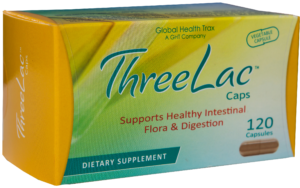 Threelac probiotic caps box