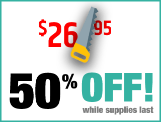 Coral Complete discount graphic - 50% off